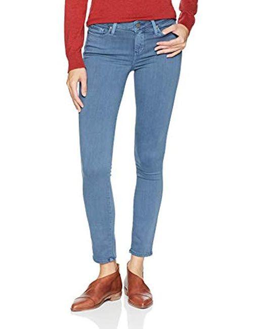 PAIGE - Blue Verdugo Ankle Jeans - Lyst