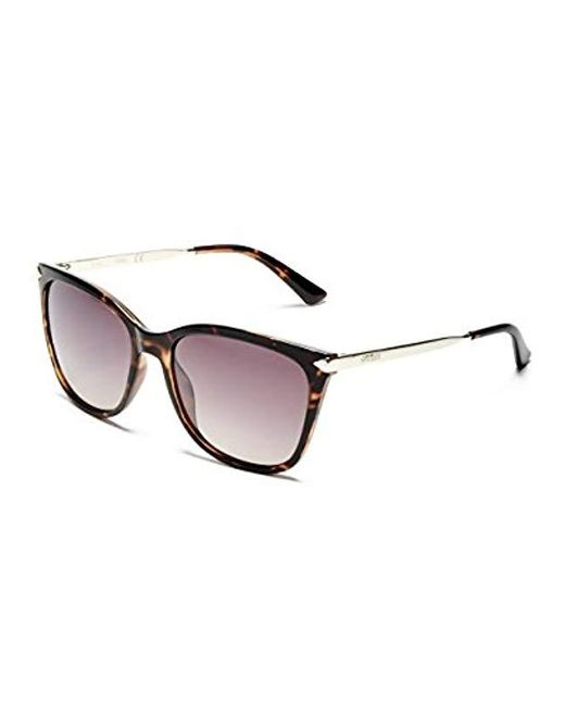 ec0bd8315520e Guess - Multicolor Amy Square Sunglasses - Lyst ...