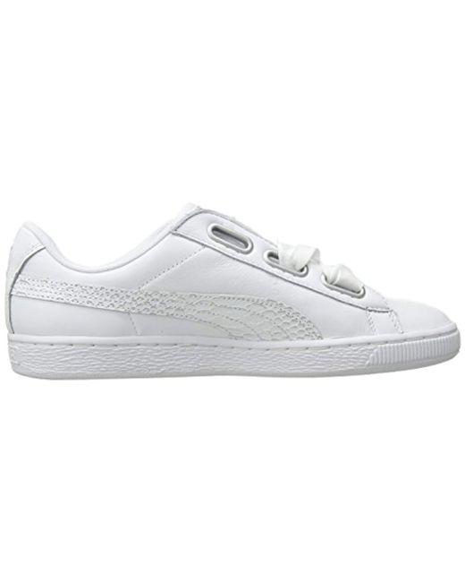 buy popular 99f6e e72f2 Women's White Basket Heart Oceanaire Wn Sneaker
