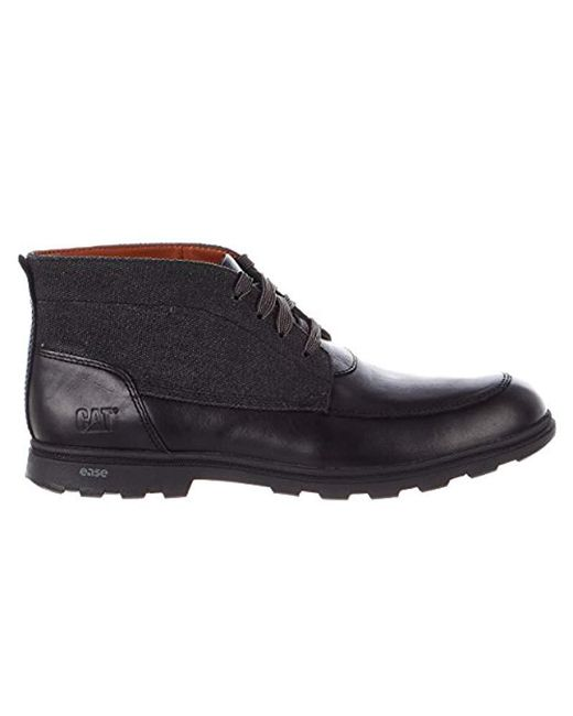 Caterpillar - Black Carnaby Canvas Fashion Sneaker for Men - Lyst