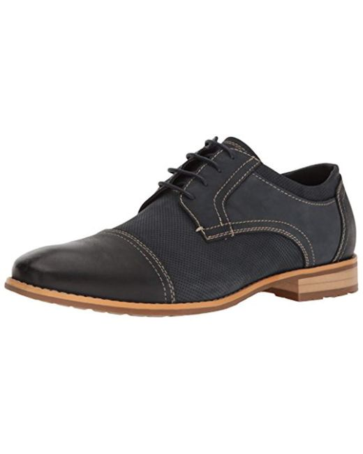 Steve Madden - Black Chays Oxford for Men - Lyst
