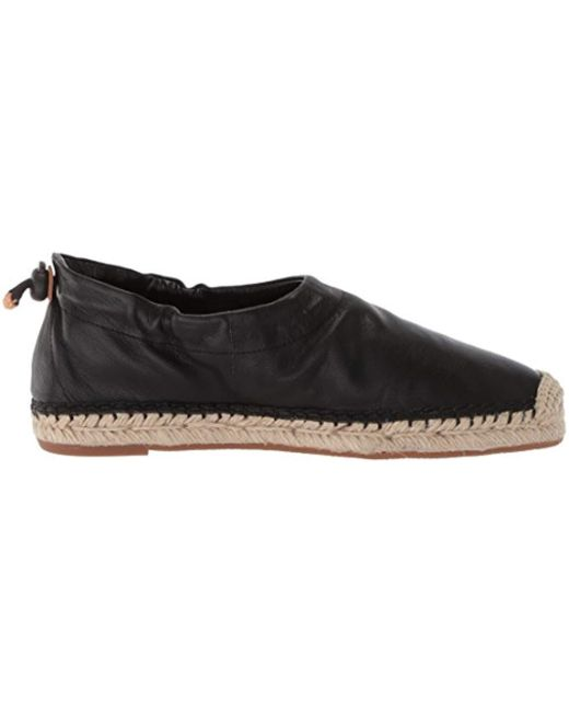 6ece129226a ... Nine West - Black Vallaint Leather Loafer Flat - Lyst ...