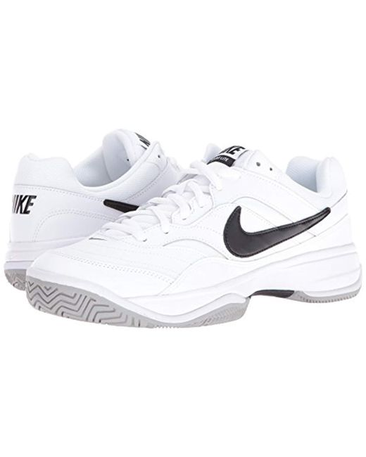 6cacc48010a Lyst - Nike Court Lite (wide) Men s Tennis Shoe in White for Men ...