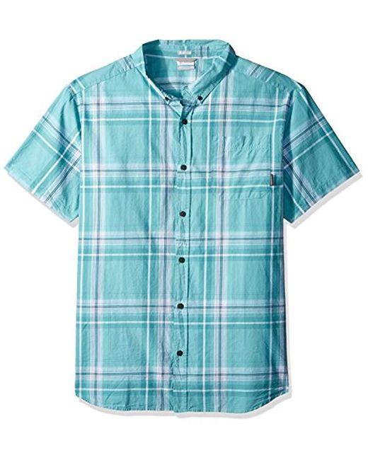 1788bca7902 Columbia - Blue Rapid Rivers Ii Big & Tall Short Sleeve Shirt for Men - Lyst