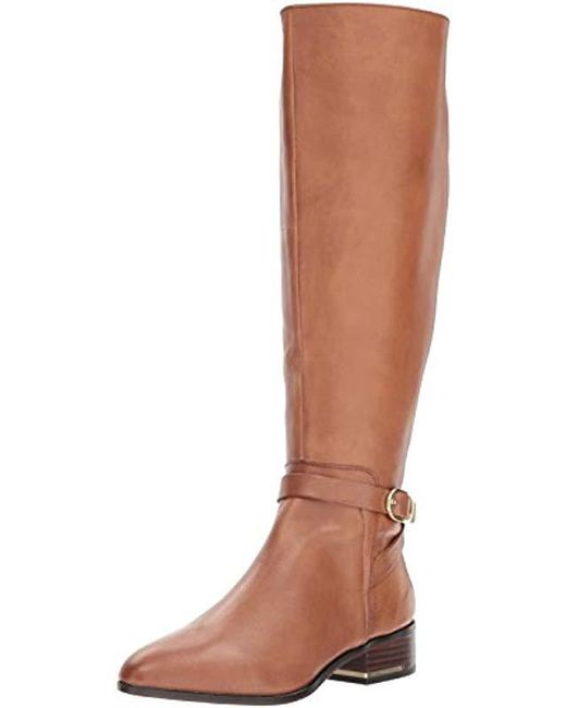 22701b43a ALDO Yelawiel Knee High Boot in Brown - Save 69% - Lyst