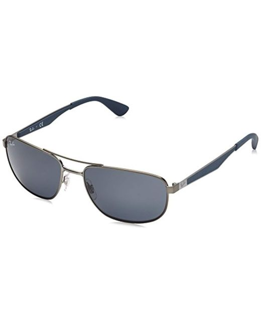 Ray-Ban - Gray 0rb3528 Square Sunglasses for Men - Lyst