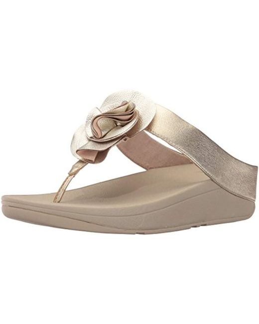 ceb4eb05b20132 Fitflop - Multicolor S Florrie Toe-thong Sandal - Lyst ...