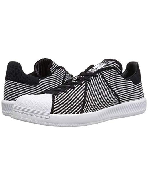 f63bc480e896 ... Adidas Originals - Black Superstar Bounce Pk Fashion Sneaker for Men -  Lyst ...