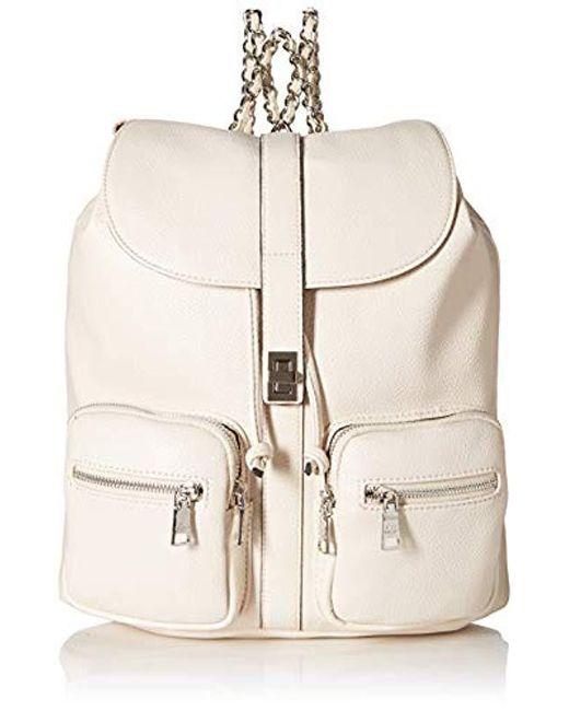 d54bded1c1 Steve Madden Bboken (cream) Backpack Bags in Natural - Save 11% - Lyst