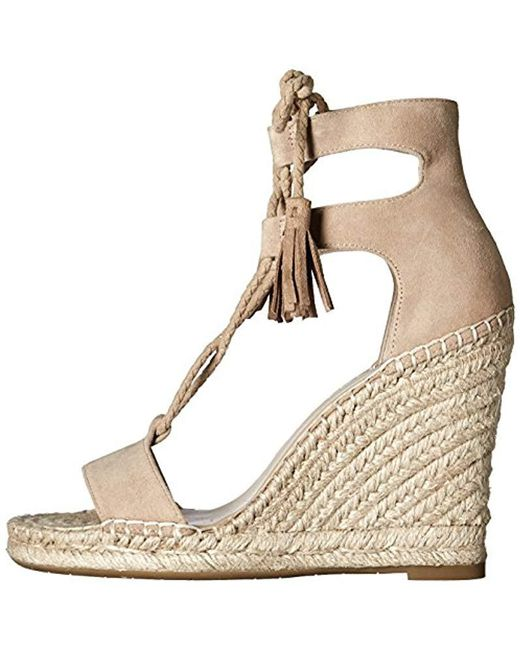 24813231528 Lyst - Joie Delilah Espadrille Wedge Sandal in Natural - Save 47%