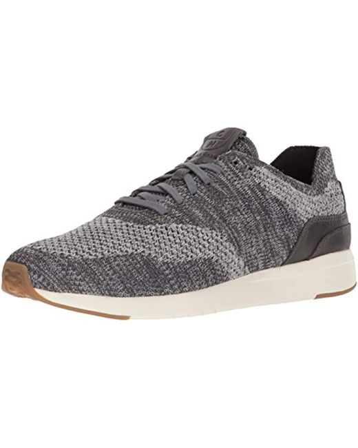Cole Haan - Gray Grandpro Runner Stitchlite (grey Heathered/tan) Men's Shoes for Men - Lyst