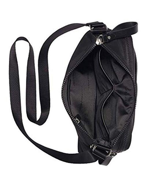 e9caea91e8c4 ... Calvin Klein - Lane Nylon Messenger (black/white) Handbags - Lyst ...
