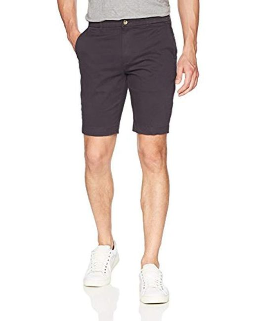 Ben Sherman - Blue Stretch Sueded Sateen Short for Men - Lyst