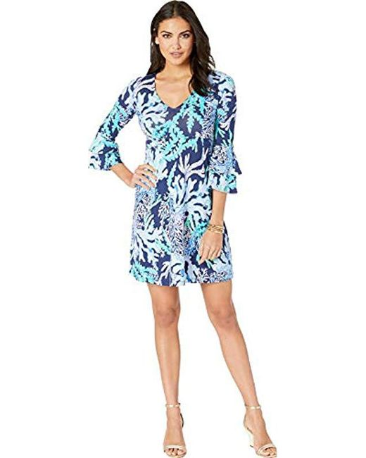 d1b5d6437105ff Lilly Pulitzer - Blue Raina Dress - Lyst ...