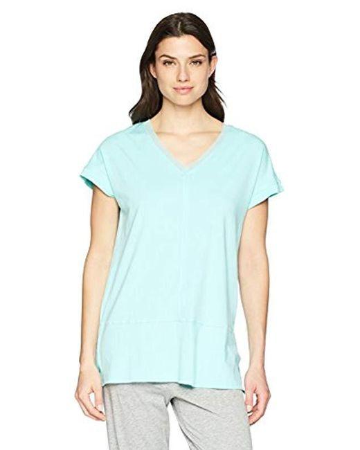 Jockey - Blue Short Sleeve Sleep Top - Lyst