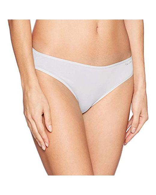 Calvin Klein - White Form Bikini - Lyst