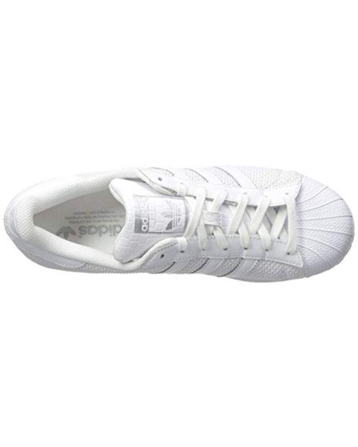 the latest 43472 767d3 ... Adidas Originals - Superstar Running Shoe White, 11 M Us for Men - Lyst