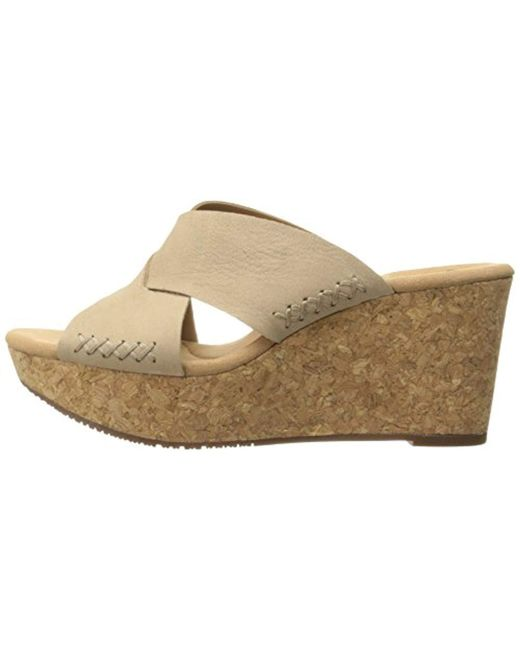 f9bed62d0f63 ... Clarks - Multicolor Annadel Danae Wedge Sandal - Lyst ...