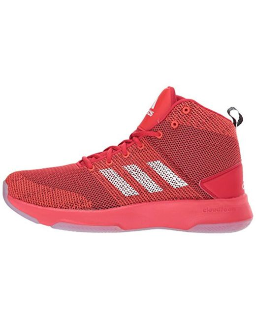 80a29b637f5 ... Adidas - Red Neo Cf Executor Mid Basketball-shoes for Men - Lyst ...