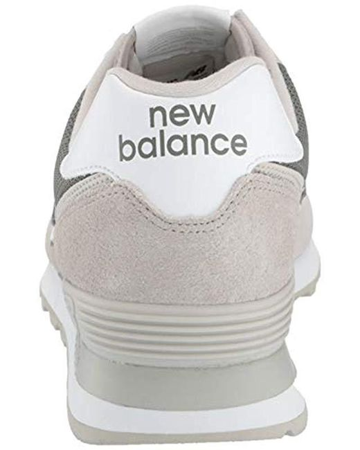 New Balance Suede Iconic 574 Sneaker in Gray for Men Lyst