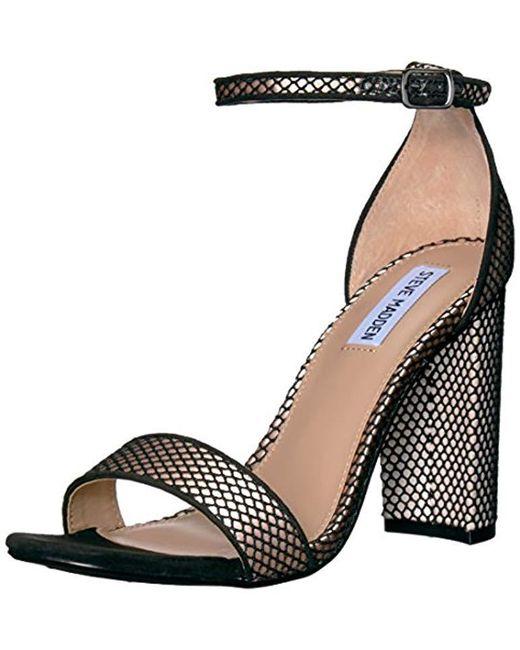 Steve Madden - Black Carrson Dress Sandal - Lyst