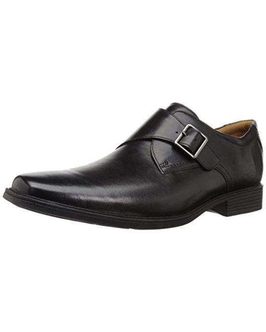 Clarks Black Tilden Style Monk-strap Loafer for men