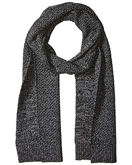 Lyst Ted Baker Kapok Twisted Cable Knitted Scarf In Gray For Men