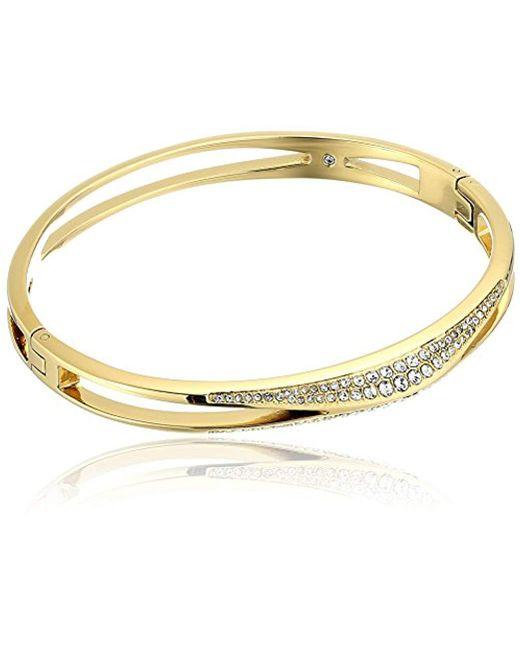 Michael Kors - Metallic Beyond Brilliant Unique -tone Bangle Bracelet - Lyst