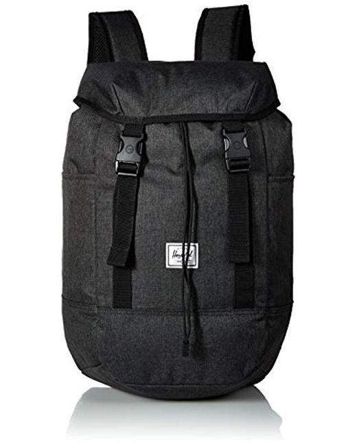 d355284d7b8b Herschel Supply Co. - Black Herschel Iona Backpack for Men - Lyst ...