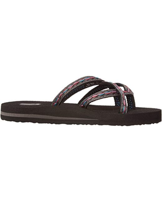 3625bca817840d ... Teva - Black Olowahu Set Of Two Pairs Of Flip-flops - Lyst ...