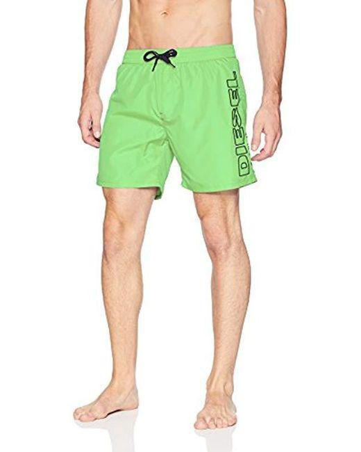 DIESEL - Green Bmbx-wave 2.017 Sw Boxer Medium for Men - Lyst