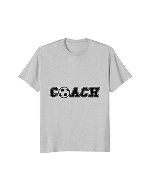 COACH - Metallic Soccer Ball T-shirt End Of Season Team Gift Tee Shirt for Men - Lyst