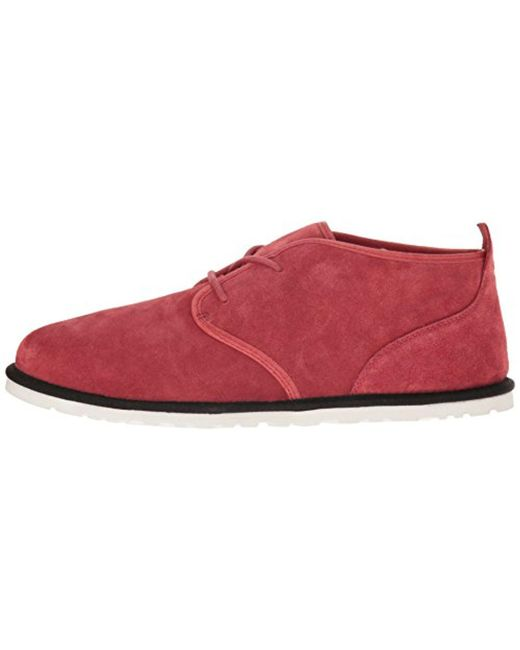 ... Ugg - Red Maksim Chukka Boot for Men - Lyst ...