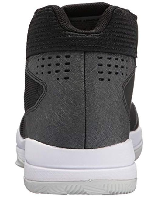 bec99fe1c35c Under Armour Ua Jet Mid Basketball Shoes in Black for Men - Save 55 ...