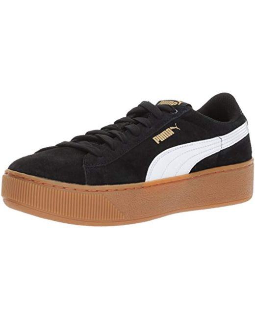 c30ae6215437 Lyst - PUMA Vikky Platform Fashion Sneaker in Black - Save 47%