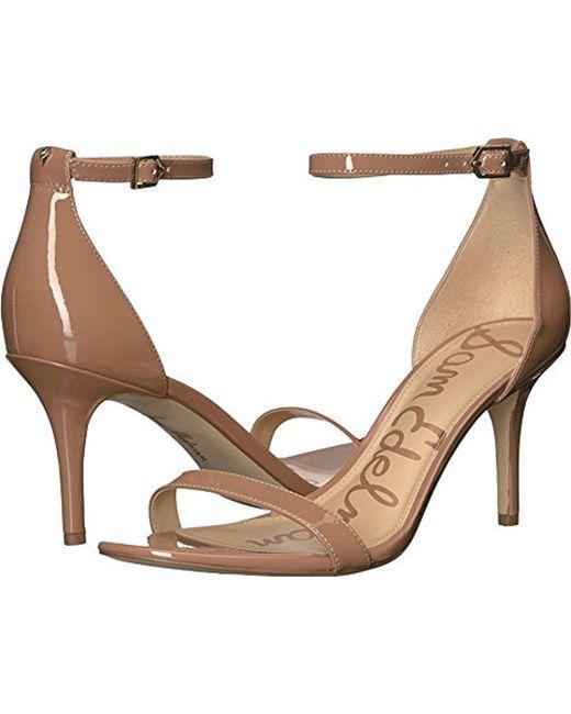 Sam Edelman - Natural Patti Dress Sandal - Lyst