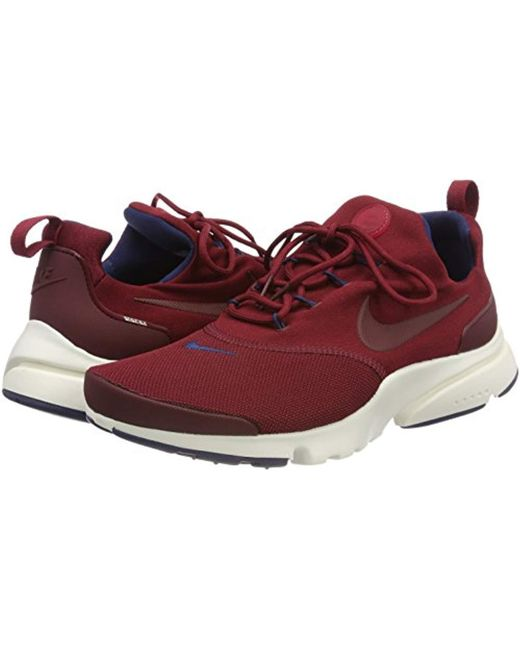 7a6fccab1666 ... Lyst Nike - Red  s Presto Fly Shoes for Men ...