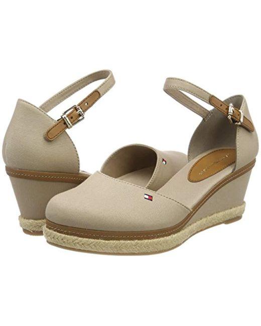 02529685c00 ... Tommy Hilfiger - Gray Iconic Elba Basic Closed Toe Sandals - Lyst ...
