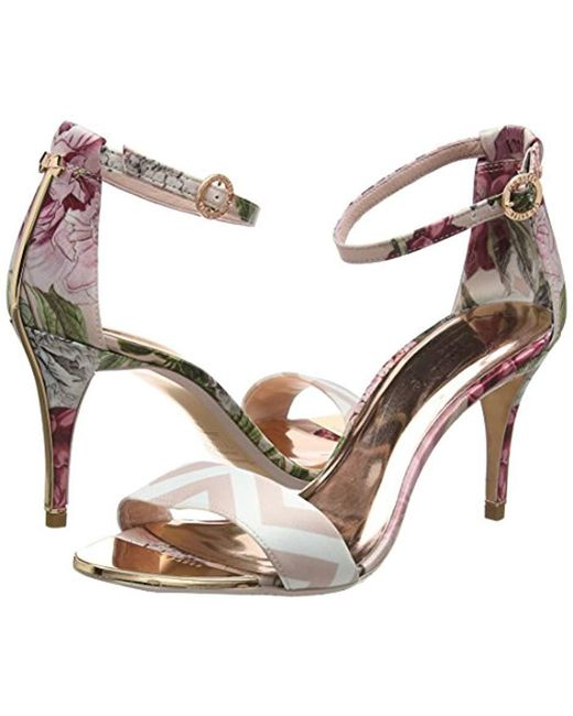 10b9b64791137 ... Ted Baker - Multicolor Mavbe Ankle Strap Sandals - Lyst ...