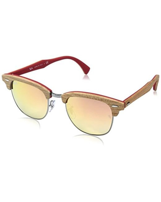 5c1b55f7c8 Ray-Ban - Multicolor Clubmaster 51mm - Lyst ...