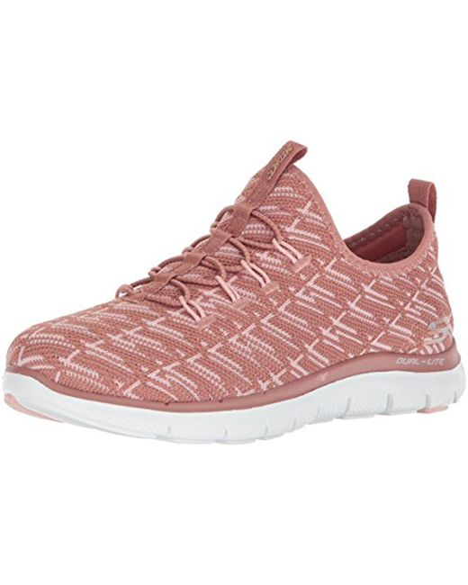 Skechers Sport Women's Flex Appeal 2.0 Insight SneakerRose6 M US