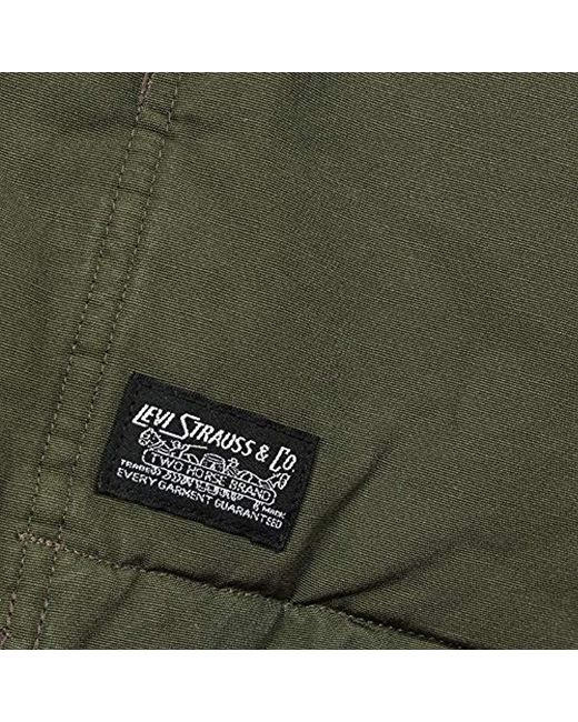 73b162811f70 Green Green Men Padded Lyst for Parka Thermore Levi S Coat Coat in  wn0SF5XSqP