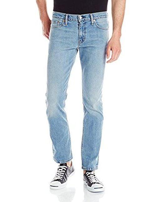 Levi's - Blue 511 Slim Fit Jeans Stretch for Men - Lyst