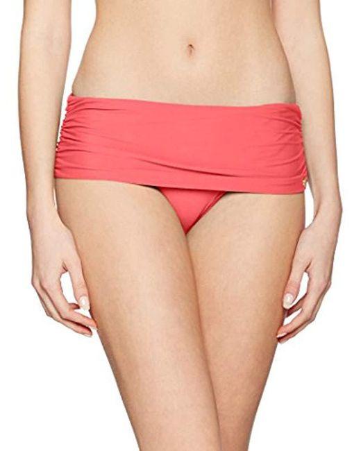 Calvin Klein - Pink Classic Foldover Bikini Bottoms - Lyst