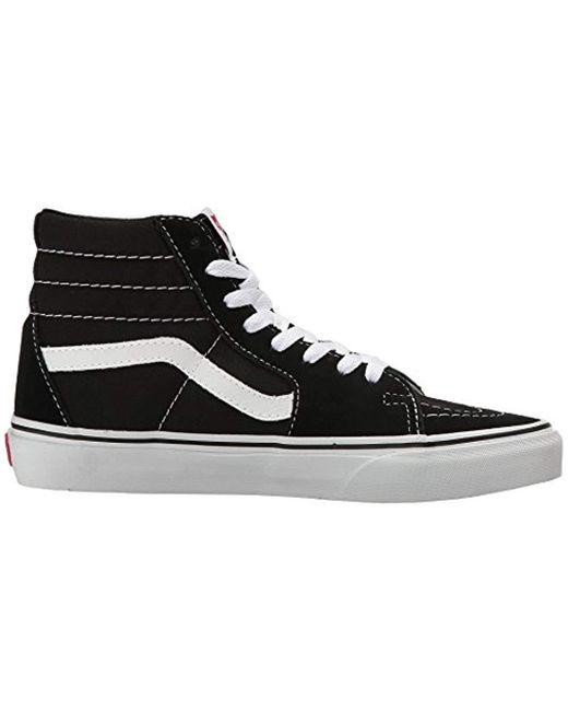 95778c50f3c387 Vans Sk8-hi Classic Unisex-adults Hi Top Lace-up Sneaker in Black - Lyst