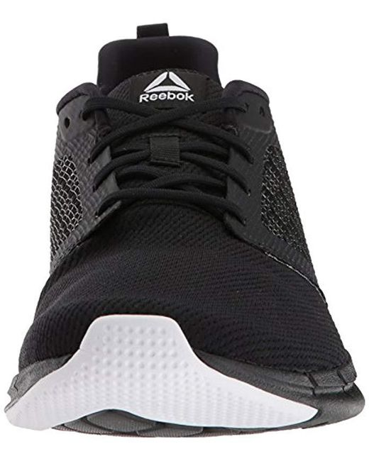 7bf03db383eb Lyst - Reebok Print Run 3.0 Shoe in Black for Men - Save 25%