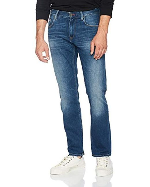 e175e41e Tommy Hilfiger Mercer-str Medina Blue, Jeans in Blue for Men - Lyst