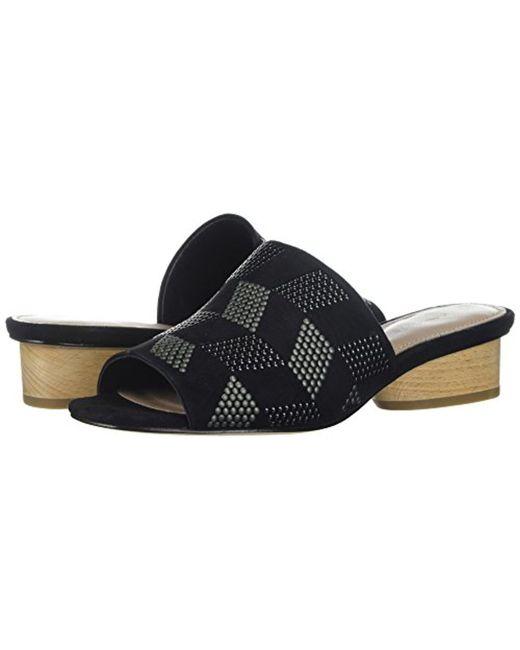 Women's Riminisp Slide Sandal Black 6 Medium US