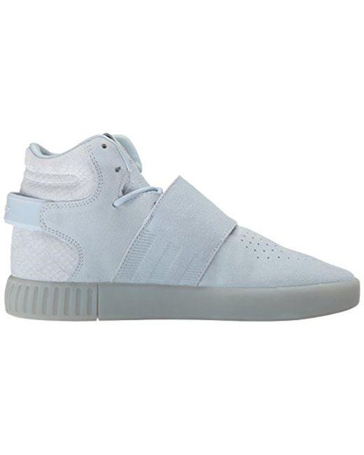 buy online 8fcc2 8d816 ... Adidas Originals - Blue Tubular Invader Strap Fashion Sneakers for Men  - Lyst ...