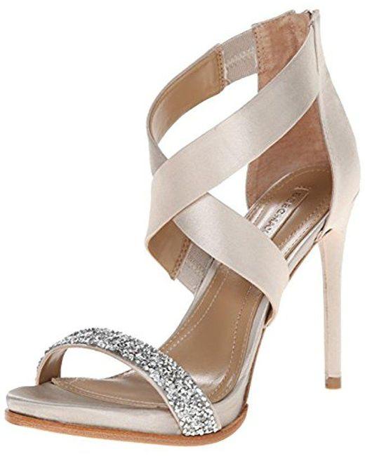 BCBGMAXAZRIA - Natural Elyse Dress Sandal - Lyst